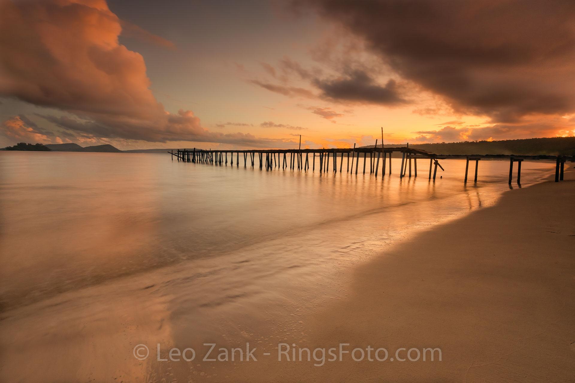 Creamy Sunset on Long Beach